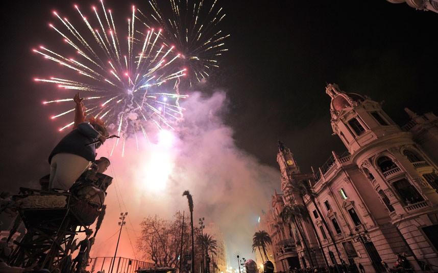 Valencia Las Fallas Festival